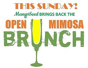 Open Mimosa Sunday Brunch Fare @ MangoSeed Restaurant | New York | United States