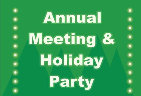 2016 Annual Meeting and Holiday Party