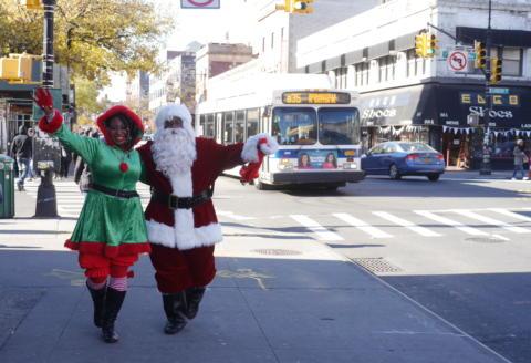 Meet Santa on Flatbush Ave. on Sat. 12/1/18!
